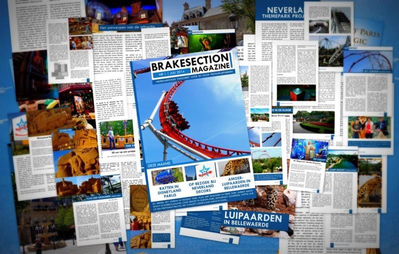 Het allereerste Brakesection Magazine.